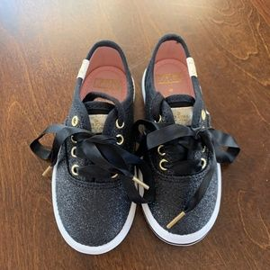 Toddler Girls Kate Spade Glitter Keds